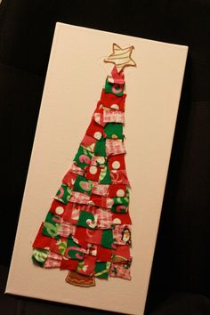DIY Baby Clothes/Pajama Christmas Tree