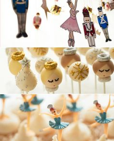 A Sweet Nutcracker-Inspired Party For Little Ballerinas.  If I ever have a little girl!!!!