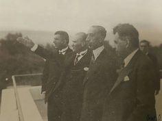 Atatürk, Irak Kralı ile Ankara'da... (Tevfik Bıyıklıoğlu, Atatürk, Kral Faysal, Kâzım Özalp)