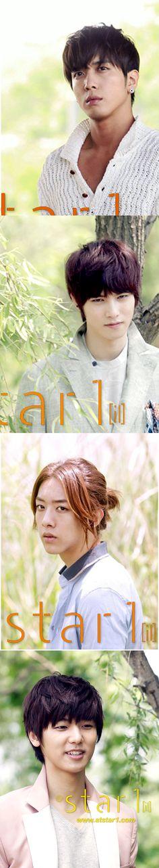 CNBLUE ♡ Jung Yong-hwa , Lee Jong-hyun, Lee Jung Shin and Kang Min-hyuk