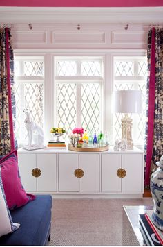 For under the side window: The Glam Pad: Palm Beach Chic with Parker Kennedy Living