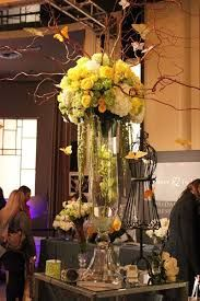 tall wedding centerpieces fall colours - Google Search