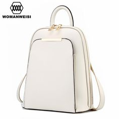 We love it and we know you also love it as well Fashion Simple Style Women Backpacks High Quality Leather School Bags Satchel Brand Design Female Backpack 2017 Rucksack Youth just only $32.38 with free shipping worldwide #womanbackpacks Plese click on picture to see our special price for you