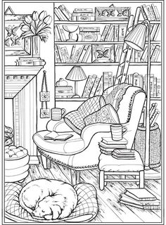 Welcome to Dover Publications Detailed Coloring Pages, Printable Adult Coloring Pages, Cute Coloring Pages, Flower Coloring Pages, Coloring Pages To Print, Colouring Pages For Adults, Coloring Sheets, Coloring Pages For Grown Ups, Mandala Coloring Pages