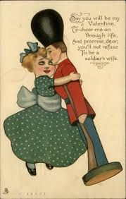Image result for TOY SOLDIERS vintage valentine