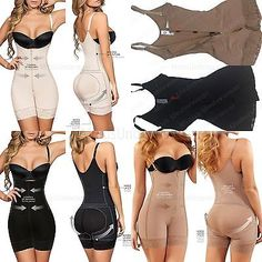 Moldeate-5050-Fajas-Levanta-Cola-Colombianas-BodyShaper-With-Low-Back-and-Zipper