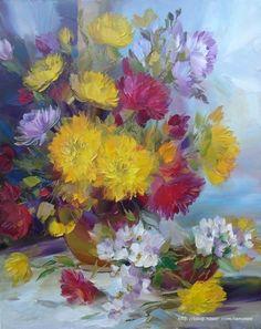 Adrienne Henczne Deak 예나 지금이나 꽃은 그림 그리기에가장 좋은 대상입니다. 그래서 수많은 화가들...