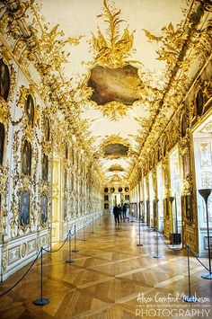 No, It's not Versailles... the Residenz Palace, Munich, Germany