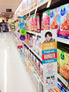 Shop at Albertsons and  Safeway​ family of stores and help the #HungerIs initiative. #sponsored #socialgood