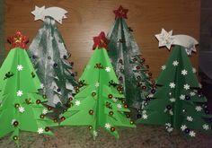 Vánoční stromeček z papiru