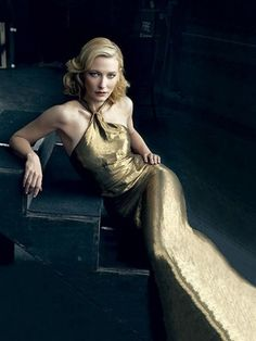Cate Blanchett (photo credit: Annie Leibovitz)