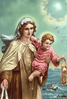 Nossa Senhora do Carmo Menino Jesus
