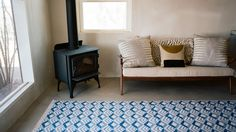 New collection of colorful Indian rugs is entirely made by hand