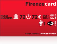 Firenze Card // The Firenze Card is a 72 hour card that gives you free admission to the major museums in Florence with no lines. // Something to consider!