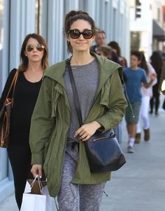 'Shameless' actress Emmy Rossum is spotted out shopping at Crate & Barrel in Beverly Hills.