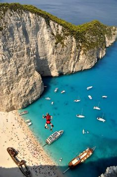 Base Jumping in Greece..yes please!