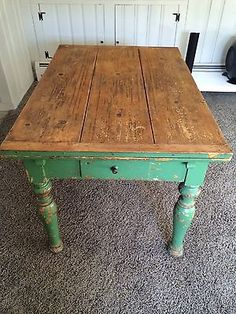 antique french farm tablefollowitfindit - Antique Farmhouse Kitchen Tables