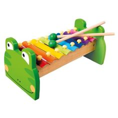 Bino Kovový xylofón žabka Wooden Toys, Triangle, Puzzle, Ebay, Products, Wood, Creative, Kids, Playing Games