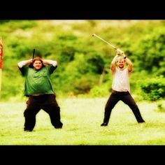 Lost (: Charlie and Hurley! <3