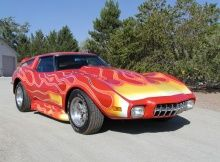 show car built from 1973 corvette by vics corvettes in excessior 1