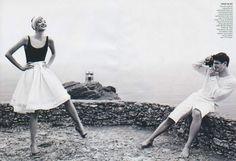 Like a Virgin | Josh Hartnett & Gemma Ward | Photography by Mario Testino | Vogue, November 2005