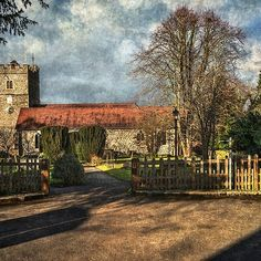 'Holy Trinity Church Cookham' by IanWL Framed Prints, Canvas Prints, Art Prints, Holi, Art Boards, Country Roads, Image, Art Impressions, Photo Canvas Prints