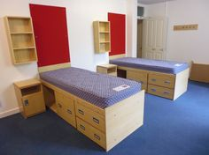 The Bespoke Bedroom Furniture We Manufactured And Installed At Wycliffe College A Prep Boarding School Set In 52 Acres Of Land On Outskirts