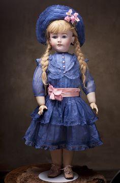 Большая кукла 80 см высотой - редкая модель Санта  фирмы Simon&Halbig