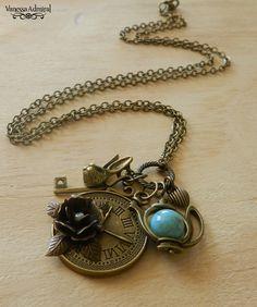Image of ~Time 4 Tea~ Wonderland Inspired Necklace Necklaces, Bracelets, Wonderland, Pendant Necklace, Jewellery, Tea, Inspired, Inspiration, Image