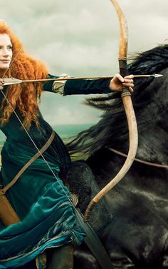 Jessica Chastain Wows As Merida In Latest From Disney Campaign | Co.Create | creativity + culture + commerce