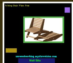 Folding Chair Plans Free 201621 - Woodworking Plans and Projects!