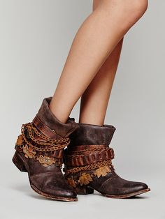 FREEBIRD by STEVEN Wyatt Ankle Boot at Free People Clothing Boutique I wear a size nine.