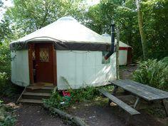 yurt camping spots