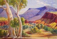 australian landscape art - Google Search Land Use, Australian Art, Art Google, Landscape Art, Overlays, Pond, Ocean, Google Search, Awesome