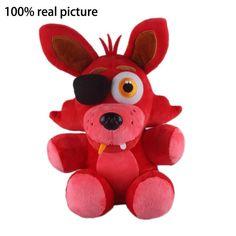 """New Five Nights At Freddy's 4 FNAF Fox Foxy Doll Plush Toys 10"""""""