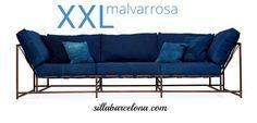Sofa de diseño industrial XXL by Sillabarcelona.com