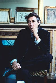 Bryan Ferry at home