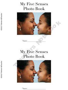 Five Senses beginning reader