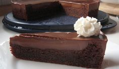 Easy chocolate cake - the sweetest thing I've ever eaten.