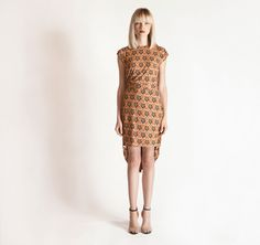 Michel Klein | Printed Pouf Dress | ModeWalk