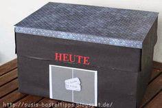 Susi's Basteltipps: Theater-Gutschein kreativ verpackt