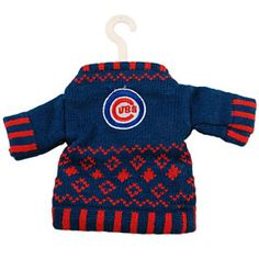 Get this Chicago Cubs Knit Sweater Ornament at WrigleyvilleSports.com