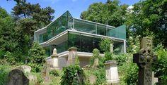 House in Highgate Cemetery by Eldridge London