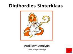Digibordles Sinterklaas Auditieve synthese 2 Letter, A Blessing, Teaching, Education, School, Net, Kids, Mathematical Analysis, Children