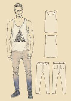 menswear fashion design by Alexa Liss