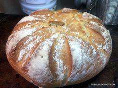 Ingredientes: 360 g de agua templada 25 g de levadura fresca de panadería ó 1 sobre seca 1 cucharadita de azúcar 600 g de harina d... Pan Bread, Bread And Pastries, Sin Gluten, Gluten Free, Organic Recipes, Pasta Recipes, Biscuits, Bakery, Muffin