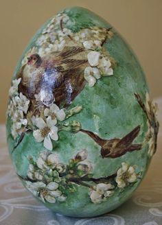 Декупаж пасхальных яиц от Сильвии Сервин - Google Търсене