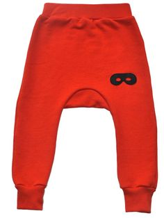 Beau Loves Davenport Pants In Red With Black Mask