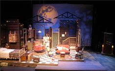 """Greenbrier Valley Theatre production of """"The Sugar Bean Sisters"""" -   Set Design by Marc Sherrell"""
