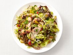 Warm Chicken and Butter Bean Salad Recipe : Food Network Kitchen : Food Network